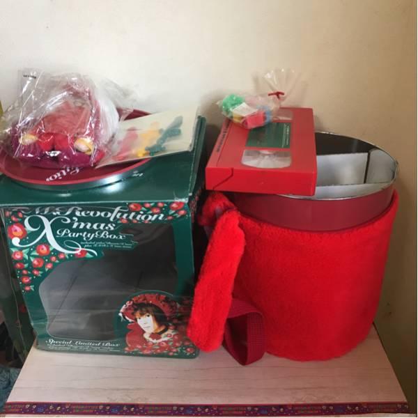 TMレボリューション クリスマスパーティーボックス 全部は揃ってないと思います、写真通り送ります。にしかわたかのり西川貴教