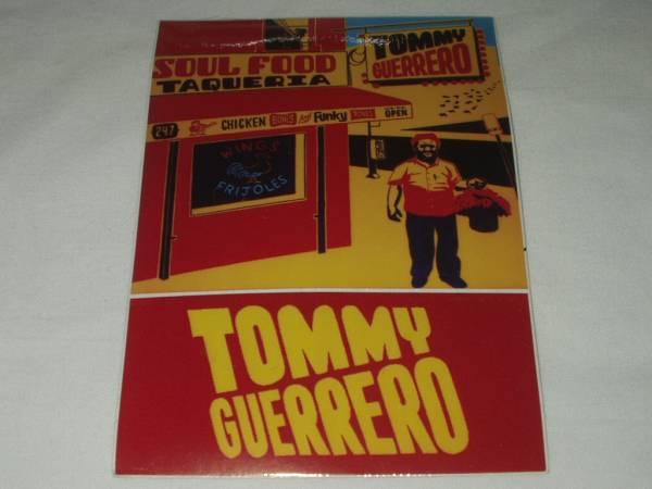 ◆ビンテージTommy Guerreroトミーゲレロ プロモ用 ステッカー Mo Wax ESPO 検 Mark Gonzalesマークゴンザレス