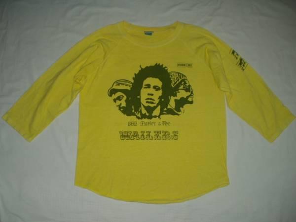 ◆Bob Marley & The Wailersボブマーリー ウェイラーズ Tシャツ Muzik city Studio one レゲエ 検Beastie Boysビースティボーイズ