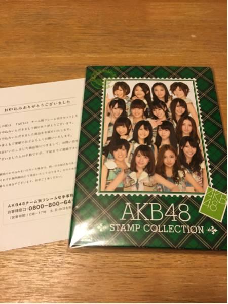 AKB48 チーム別フレーム切手セット チームK ライブ・総選挙グッズの画像