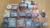 マスキングテープ 34本 宇宙 魚 空 金魚 花 和柄 ペンギン 小鳥 など