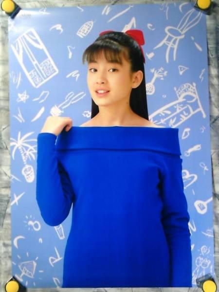 b23【大型ポスターA1】宮沢りえ/maxellカセット販促用非売品ポスター/e