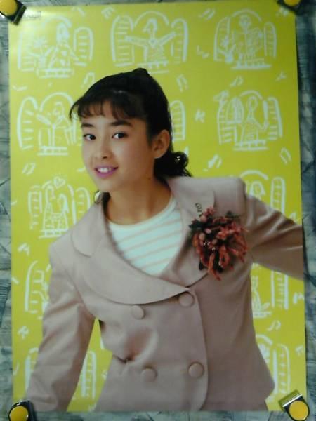 b23【大型ポスターA1】宮沢りえ/maxellカセット販促用非売品ポスター/d