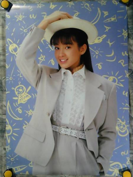 b23【大型ポスターA1】宮沢りえ/maxellカセット販促用非売品ポスター/c