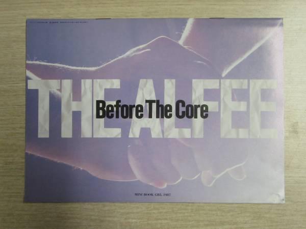 170401n14▼希少▼アルフィー GB付録 ミニブック 1987年5月号 THE ALFEE MINI BOOK