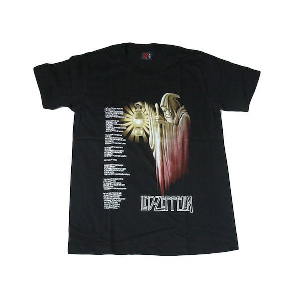 ●送料無料●LED ZEPPELIN レッド・ツェッペリン Zep ロックTシャツ イギリス ロックバンド デザインTシャツ★N338M