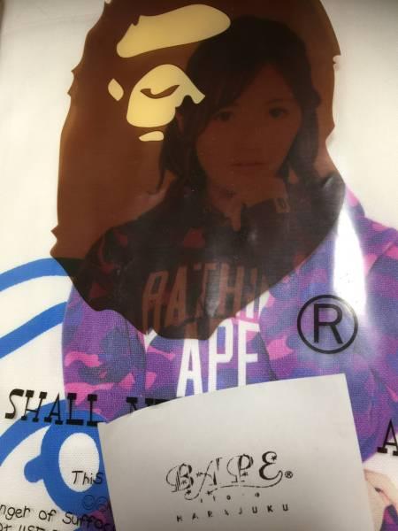 A BATHING APE×AKB48 渡辺麻友トートバッグ 正規店購入未使用未開封品 ライブ・総選挙グッズの画像