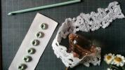 ゜○アンティーク レース○゜フランス製ヴィンテージ装飾リメイク材料ハンドメイド花材リメイク古いレース雑貨ドライフラワー美品ブーケ