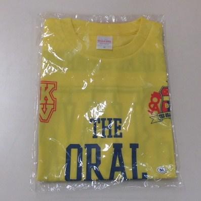 THE ORAL CIGARETTES Tシャツ Mサイズ ☆未開封