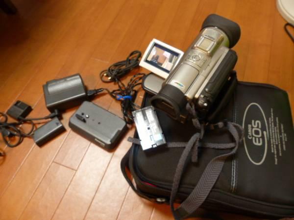 希少 ミニDV 3CCD NV-DJ100 一式  バッテリー2本  キャノンカメラバッグ付  ジャンク_画像3