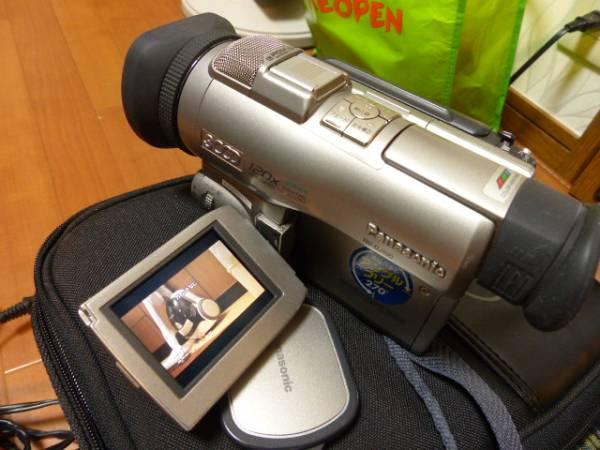 希少 ミニDV 3CCD NV-DJ100 一式  バッテリー2本  キャノンカメラバッグ付  ジャンク_画像2