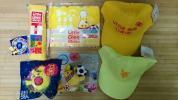 【ROUND1】 ラウンドワン リトグリグッズ黄色アサヒSET Tシャツマスコットキャップタオル他