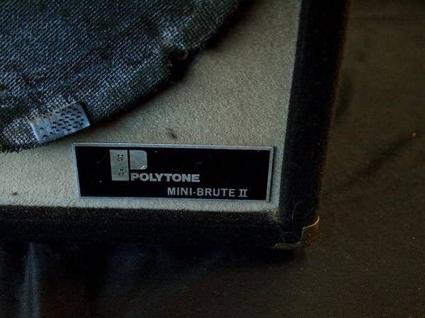 【VINTAGE/オリジナル】POLYTONE MINE-BRUTE Ⅱポリトーン