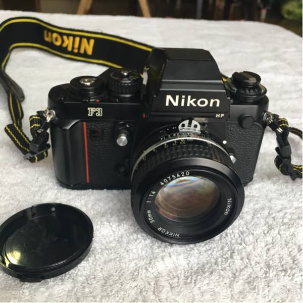 Nikon F3 HP 160万台 付属品付/ニコン/NIKON