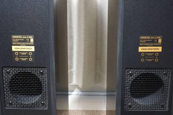 売切!ONKYO★D-309E 2ウェイ・スピーカーシステム/トールボーイ★動作品/2台1組(ペア)_画像3