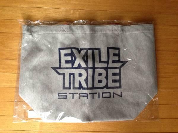 EXILE TRIBE STATION スウェット地 トートバック 未使用未開封