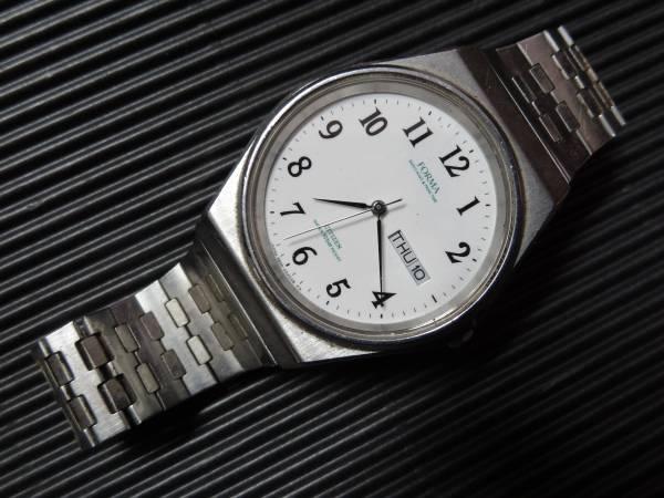 □■CITIZEN FORMA BASICS MAKE ▲ PRIME TIME □■シチズン フォルマ メンズ デイデイト 腕時計 3800-451759 TA ジャンク