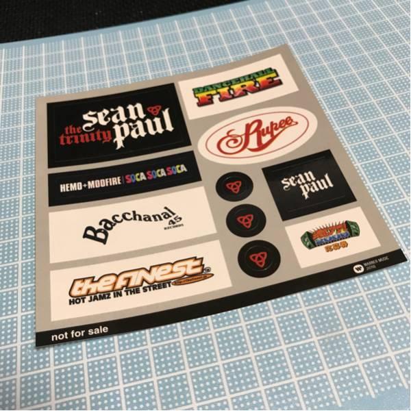 【非売品】the FINEST reggae ステッカー/SEAN PAUL