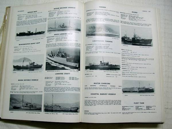 ♪海★古本【Jane's Fighting Ships  1972-73】戦艦・戦闘機・戦車・軍艦・空母・駆逐艦・重巡洋艦・潜水艦・海軍_画像2