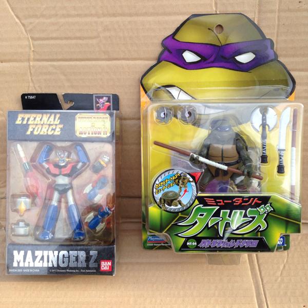マジンガーZ ミュータントタートルズ 2点セット おもちゃ フリマ 転売 グッズの画像