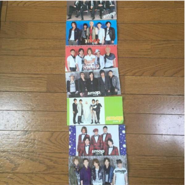 スマップ SMAP ファンクラブ 冊子 7冊 コンサートグッズの画像