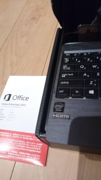 H100TA WIN10/メモリ64GB/MS Office2013 Home&Biz/ケース付/送料込み(T100TAにオフィス追加、メモリ増量をしたAMAZON特別仕様)_画像3