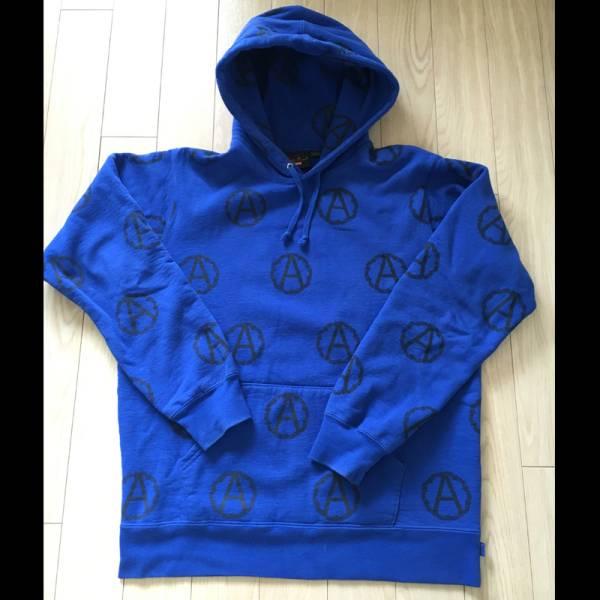 美品 SUPREME シュプリーム UNDERCOVER アンダーカバー Anarchy Hooded Sweatshirt スウェットパーカー プルパーカー パーカー Lサイズ