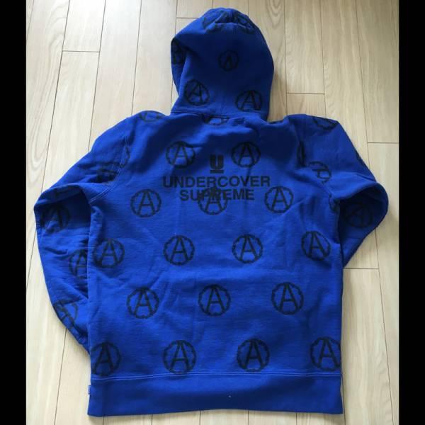 美品 SUPREME シュプリーム UNDERCOVER アンダーカバー Anarchy Hooded Sweatshirt スウェットパーカー プルパーカー パーカー Lサイズ_画像2