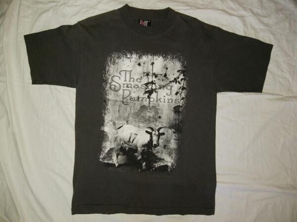 希少 90s The Smashing Pumpkins オフィシャル Tシャツ フォトT giant スマパン コピーライト sub nirvana sonic youth dinosaur バンドT