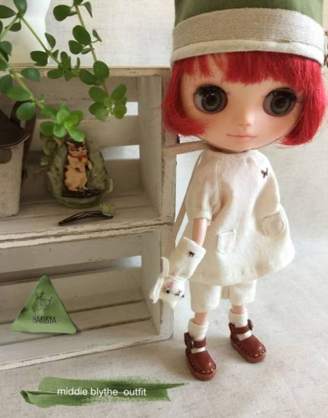 *Blythe outfit (middie)*パペット・洋服set ♪*_画像2