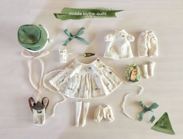 *Blythe outfit (middie)*パペット・洋服set ♪*_画像3