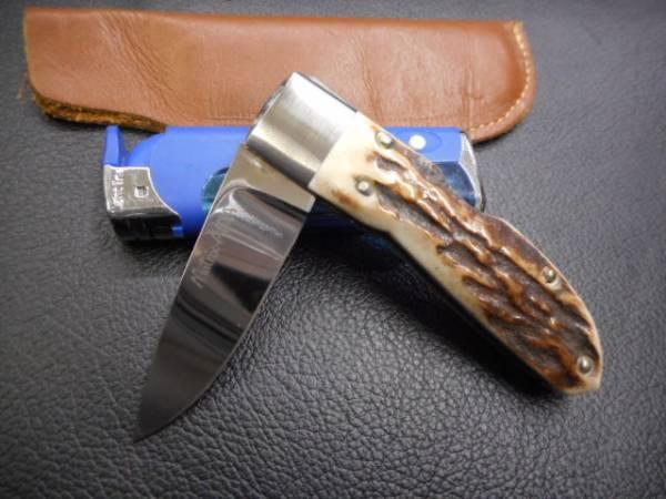 ナイフ 折り畳み マトリッス アイダ 相田 MATRIX AIDA 素晴らしいスタッグハンドルです。_画像1