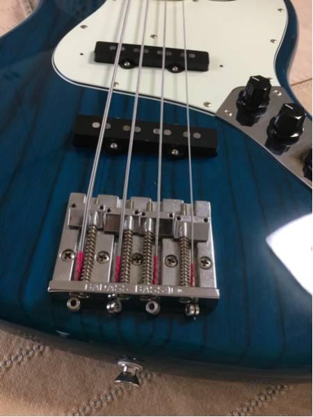 CoolZ ZJB-1M/ASH BADASSⅡ搭載 美品 アッシュボディ トランスブルー 調整済み fujigen fender jazz bass