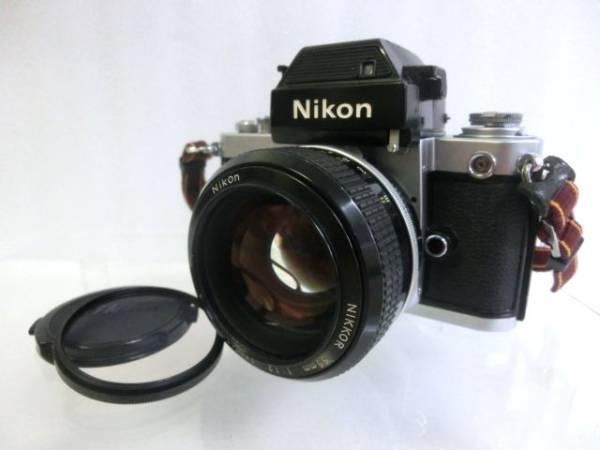 ⑤ Nikon ニコン F2 7420498 ボディ+NIKKOR 55mm F1.2 一眼レフカメラ