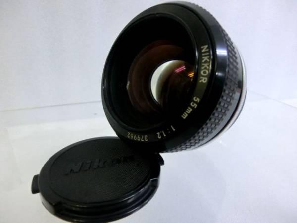 ⑤ Nikon ニコン F2 7420498 ボディ+NIKKOR 55mm F1.2 一眼レフカメラ_画像3