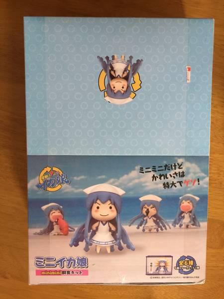 侵略イカ娘 フィギュア 「ミニイカ娘飼育キット」 5種+シークレット1種セット グッズの画像