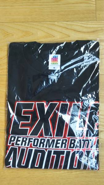 EXILE TRIBE PERFECT YEAR 2014 FINAL 2014.4.27 Tシャツ 黒 Mサイズ 未使用品 グッズ エグザイル