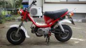 赤チャッピー50、エンジン好調。黄色チャッピー、部品取りのセットです。 モンキー dax