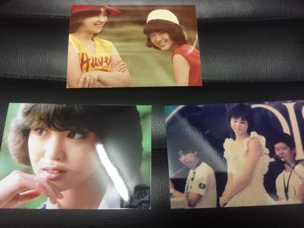 ★松田聖子 貴重な写真3枚セット★岩崎良美 コンサートグッズの画像