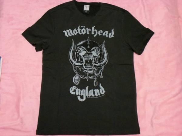 MOTORHEAD モーターヘッド Tシャツ S Amplified アンプリファイド バンドT ロックT NWOBHM