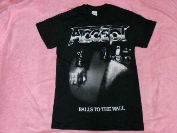 ACCEPT アクセプト Tシャツ S バンドT ロックT Balls To The Wall Scorpions Helloween