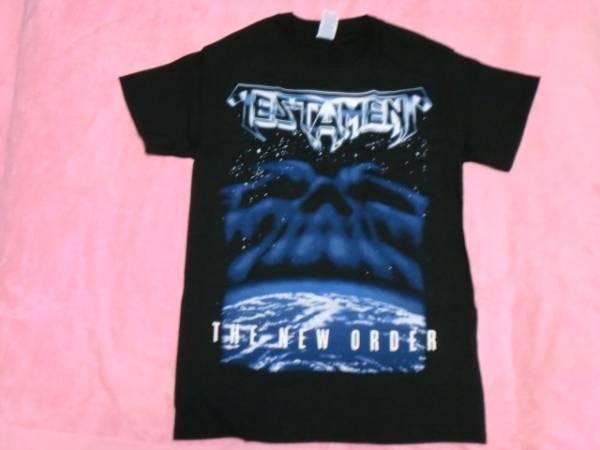 TESTAMENT テスタメント Tシャツ S バンドT ロックT The New Order Exodus