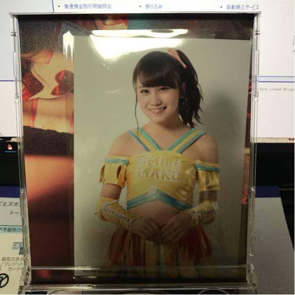 AKB48 シュートサイン E 小嶋真子 生写真 一枚 ライブ・総選挙グッズの画像