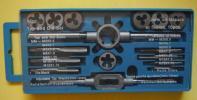 【F581】タップとダイスセット(ハンドル付)未使用か