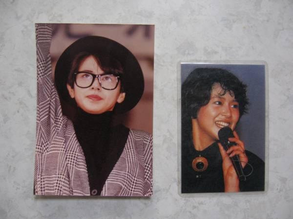 【生写真&カード】●送料無料●小泉今日子/2枚