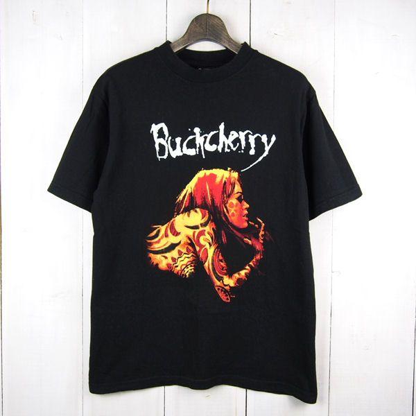 USA製バックチェリー*Buckcherry*TIME BOMB '01TOUR*Tシャツ(M)ブラック【バンドT】