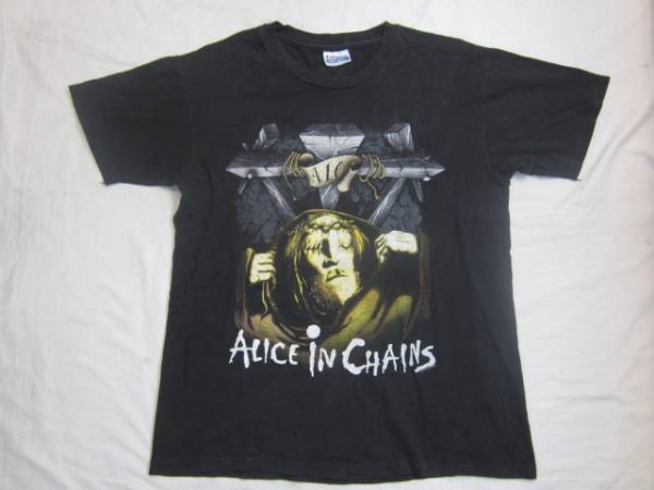 ALICE IN CHAINS 91`s バンドT 黒 L