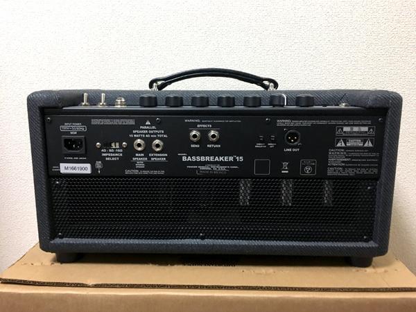 Fender USA BASSBREAKER 15 Head ギターアンプ ヘッド フェンダー検索)blues junior jr hot rod deluxe twin bassman 真空管 チューブ
