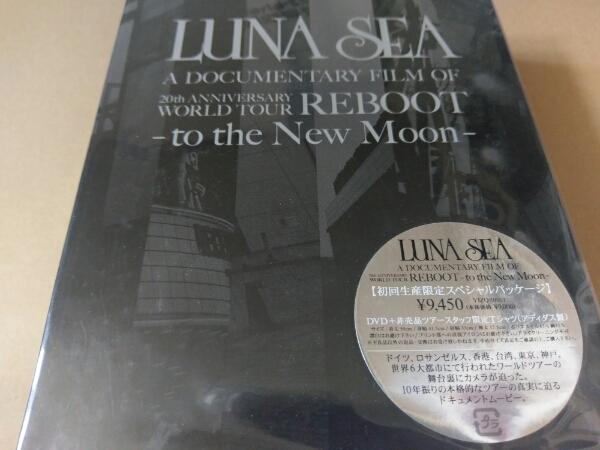 LUNA SEA DVD+Tシャツ A DOCUMENTARY FILM OF REBOOT 未開封 ライブグッズの画像