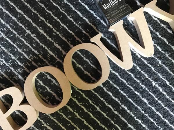 BOOWY 文字 アルファベット 氷室 布袋 ボウイ